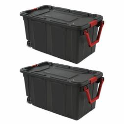 40 Gal. Plastic Tote Storage Container Large Organizer Box B