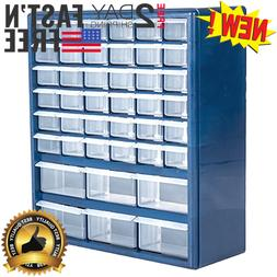 42-Drawer Hardware Craft Parts Tool Home Bin Storage Box Org