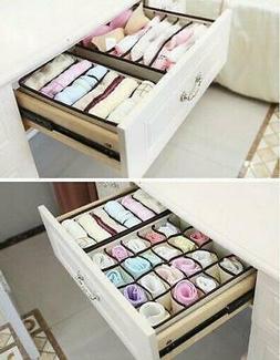 4pcs non woven fabrics storage boxes home