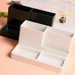 5 Grid Multi-function Storage Box Desktop Office Home Solid