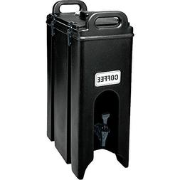 Cambro 500LCD110 Black 4.75 Gallon Camtainer Insulated Bever