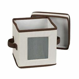Household Essentials 530 Dinnerware Storage Box with Lid and