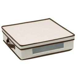Household Essentials 537 Vision Storage Box with Lid and Han