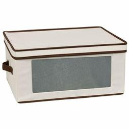 Household Essentials 540 Vision Storage Box With Lid And Han