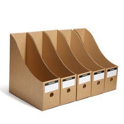 5pcs file storage box folder book frame