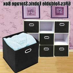 6 Pack Storage Cube Basket Shelf Closet Drawers Best Home To