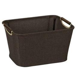 Household Essentials 600 Small Tapered Fabric Storage Bin wi