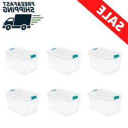 Sterilite 64 Qt Latching Box, White