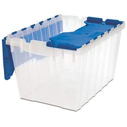 Akro-Mils 66486 CLDBL 12-Gallon Plastic Storage KeepBox with
