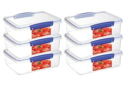 LOT OF 3- SISTEMA Food Storage Container or Lunch Box - 67.6