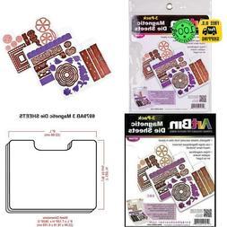 Artbin 6979Ab Die Cut Magentic Stoage Sheets Refills 3Pk  3