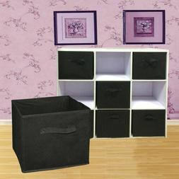 6PCS Foldable Storage Collapsible Box Home Clothes Holder No