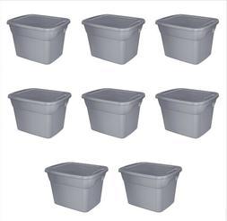 8 plastic storage container box set 18
