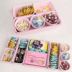 8Pcs Desk Box Drawer Organization Tray Organizer-Box Trays H