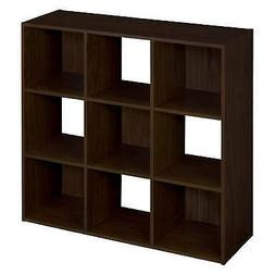 CLOSETMAID 9 Cube Espresso Laminated Stackable Storage Organ