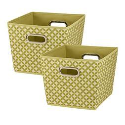 Household Essentials 96 Medium Tapered Decorative Storage Bi