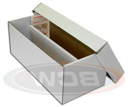 BCW Graded Card Shoe Storage Box 2 Row Cardboard Lid PSA Bec