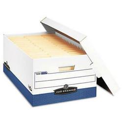 "Bankers Box - Presto Maximum Strength Storage Box Lgl 24"" 15"