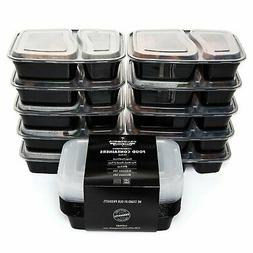 California Home Goods 2 Compartment Reusable Food Storage Co