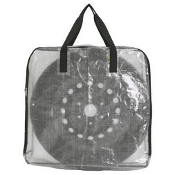 Pack of 3 - Extra Large Clear Storage Bag for Clothing Stora