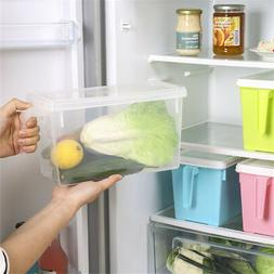 Accessories storage box, refrigerator, plastic kitchen handl