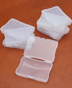 Acid Free Picture Boxes 8 Clear Plastic Scrapbook Keepsake 8