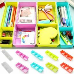 Adjustable Drawer Kitchen Cutlery Divider Case Makeup Storag