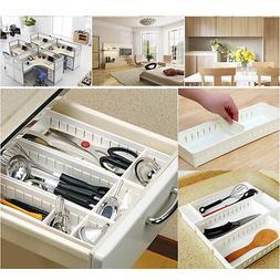 Adjustable New Drawer Organizer Home Kitchen Board Divider M
