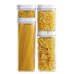 Airtight Food Storage Container With Lid Vacuum Seal Cereal
