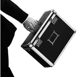 Aluminum Locking Personal File Tote for Legal Size Documents
