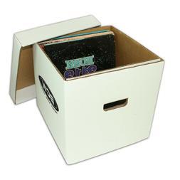"Archival Methods Record Storage Box, 15.5x12.75x10"", Gray, P"