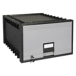 "Storex Archive Drawer for Legal Files Storage Box, 24"", Blac"