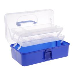 ART SUPPLY STORAGE BOX PLASTIC KIDS ARTS CRAFTS SEWING HOBBY