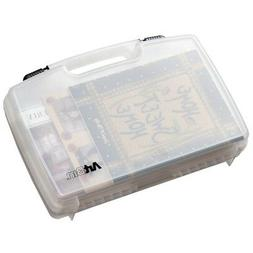 "Artbin Quick View Carrying Case-17""x3.875""x12.375"" Transluce"