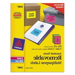 AVE6482 - Avery Removable Self-Adhesive Multipurpose Labels