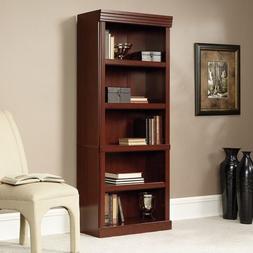 Axess Collection 5 Shelf Narrow Bookcase Book Case Bookshelf