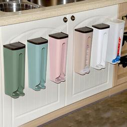 Bag Holder Dispenser Grocery Plastic Storage Box Wall Mount