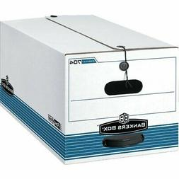 Bankers Box FastFold Stor/File Storage Boxes, 10 x 15 x 24,