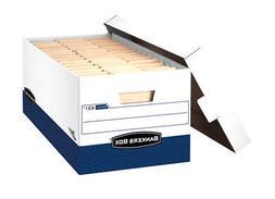 Bankers Box® PRESTOTM Storage Boxes BOX,PRESTO 10X12X24,WE
