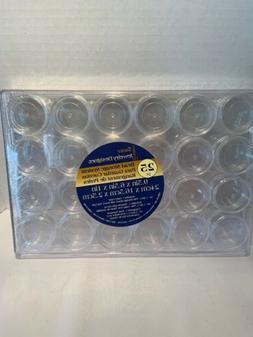 Bead Storage System Darice 25 Pc 24 Storage Boxes W/ Screw T