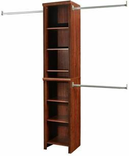 Bedroom Closet Organizer Storage Rack Shelves Clothes Narrow