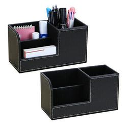 bedroom supplies storage box pu leather multifunction