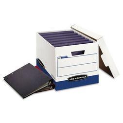 """Bankers Box Binderbox Heavy-Duty Storage Boxes, Binders, 12"""""""