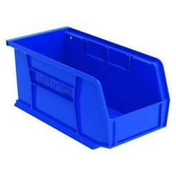 Blue Hang and Stack Bin, 30 lb Capacity, 30230BLUE, Akro-Mil