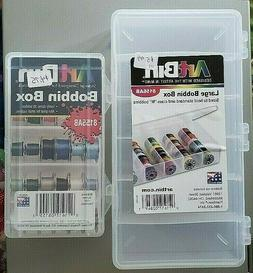 ARTBIN Bobbin Boxes one or both Small or Large thread storag