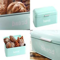 Bread Box for Kitchen - Stainless Steel Bread Bin Storage Co