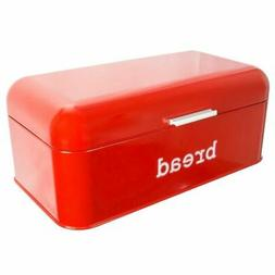Bread Box For Kitchen - Stainless Steel Bread Bin Storage Co