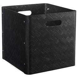 Ikea BULLIG Bamboo Storage Box Home Decor 12 ½ x 13 ¾ x 13