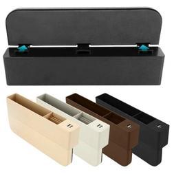 Car Seat Crevice Box Storage Cup Holder Organizer Auto Gap P