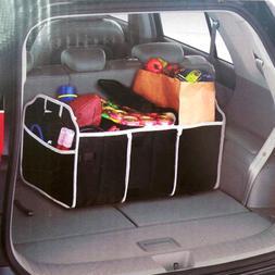 Car Storage Box Portable Foldable Organizer Car Trunk Reserv